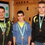 Junioren: Juen Daniel (2. - Tarrenz), Johannes Stefani (Bezirksmeister), Jan Horvath (3. - Tarrenz)