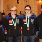 unsere goldene Mannschaft: Franziska Stefani, Katharina Auer, Marie-Theres Auer und Johannes Stefani
