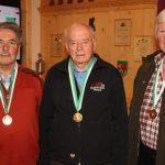 Senioren 3: Hartl Ennemoser (2.), Richart Wörther (1. - Umhausen), Franz Pöschl (3. - Mieming)