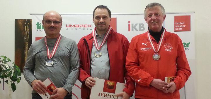 Rang 2 in der Masters-Klasse: Norbert Stefani