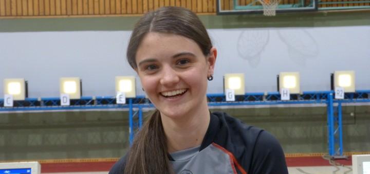 Rang 3 bei den Juniorinnen: Franziska Stefani