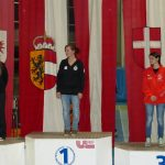 Siegerehrung Juniorinnen: Nadine Ungerank (Rang 2), Michelle Oberhofer (Österreichische Meisterin), Franziska Stefani (Rang 3).
