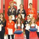 Die Finalistinnen in der Klasse Juniorinnen.