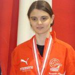 Die erste Medaille bei Österreichischen Meisterschaften für Franziska.