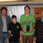 Siegerehrung Luftgewehr Jugend 2