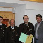 Ehrung für 40 Jahre Mitgliedschaft: Ewald Auer