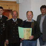 Ehrung für 50 Jahre Mitgliedschaft: Hans Heiß