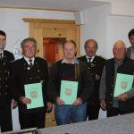 Die für 50-jährige Treue geehrten Mitglieder