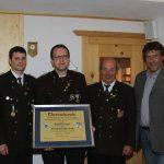 Neuer Ehren-Schützenrat der Schützengilde Roppen: Ewald Auer
