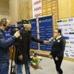 Anschließend gleich zum Fernsehinterview mit Flo Haidvogl von Schau TV