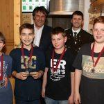 Rang 2 in der Jugendklasse: Schützenkompanie 3