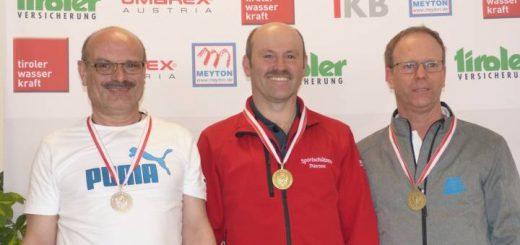 Norbert Stefani errang Silber bei den Senioren 1