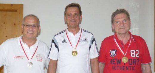 Silber in der Klasse Senioren 1 für Hans-Hermann Auer.