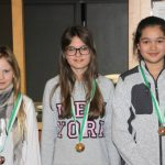 Rang 2 für Lena Kluibenschädl in der Klasse Jugend 1 weiblich (im Bild links)