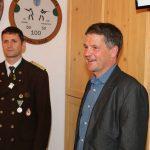 Führten die Siegerehrung durch: Vizebürgermeister Günter Neururer und OSM Gebhard Ennemoser