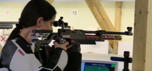 Präsentierte sich in Topform: Franziska Stefani