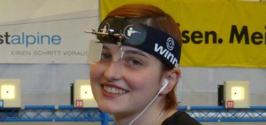 Unsere glückliche EM-Starterin: Marie-Theres Auer