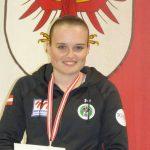 Mit zwei Medaillen unsere erfolgreichste Schützin: Katharina Auer.