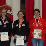 Auch bei den Juniorinnen 3 Tirolerinnen auf dem Siegerbild.