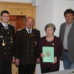 Ehrung für 40 Jahre Mitgliedschaft: Lini Ennemoser