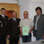 Ehrung für 40 Jahre Mitgliedschaft: Alois Falkner