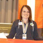 Die Medaillen 5 und 6 bei einer Welt- oder Europameisterschaft für Katharina.