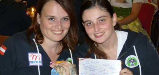 Konnten neuerlich tolle Erfolge bei einem Großereignis feiern: Katharina und Marie-Theres Auer