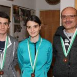 Bronze für die Mannschaft Roppen: Johannes Stefani, Franziska Stefani, Norbert Stefani, Arabella Schauer (nicht am Bild)